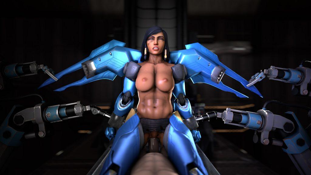 Overwatch sombra x reaper - 3 1