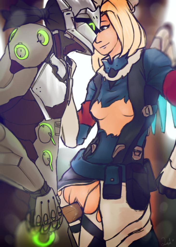 Overwatch sombra x reaper - 3 3