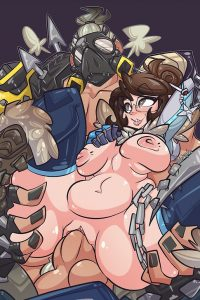 Mei and Roadhog