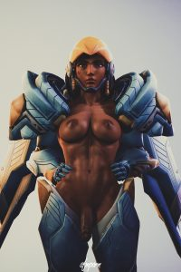 Mercy, Pharah and Sombra