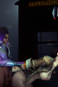 Sombra, Tracer and Widowmaker