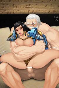 Pharah and Reinhardt