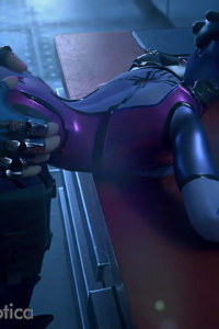 Widowmaker and Zarya