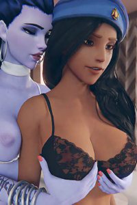Ana and Widowmaker