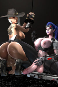 Ashe and Widowmaker